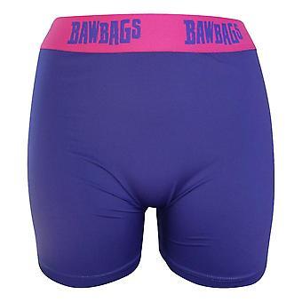 Bawbags Women's Boxer Shorts - Blue