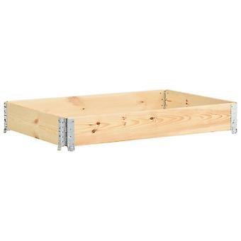 vidaXL Pallet top frame 100×150 cm pine solid wood