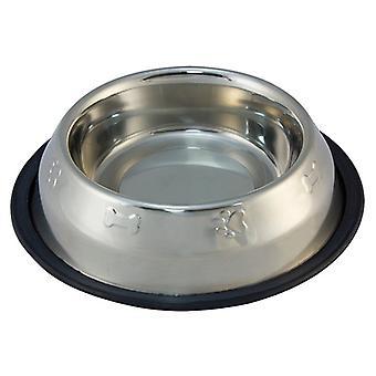 Arquivet нержавеющая анти-скольжения через 2 (собак, миски, кормушки & газированной водой)