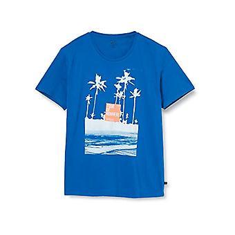 Q/S designed by T-Shirt Kurzarm, 64D0 Nautical Blue, XL Men's