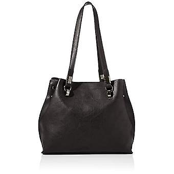 N.V. Bags NV503 Woman CLASSIC BAG WOMAN, Black, One Size