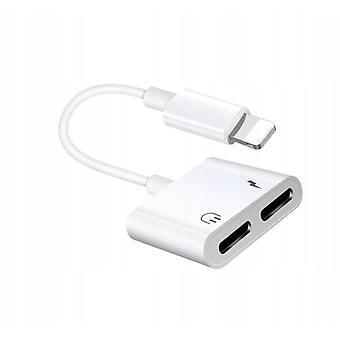Suitable For Iphone Mobile Phone Lighting To Dual Lighting Expansion Adapter