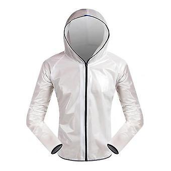في الهواء الطلق دراجة واقية من المطر معطف للماء ركوب الدراجات يمكن ارتداؤها سترة Windproof مريحة ملابس دراجة معطف واق من المطر
