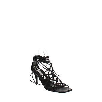 Stella McCartney | Geknoopte kooi enkel stropdas sandalen