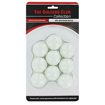 Golfers Club 30% Distance Golf Balls pack 9