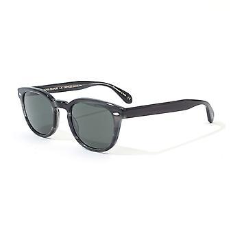 Oliver People Sheldrake Sun Sunglasses - Charcoal Tortoise