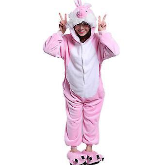 Regenboghorn Rabbit Costume Pajama Onesie Kigurumi Jumpsuit Animal Hoodie