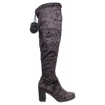 Tamaris 12556439 Black Velvet 112556439 048 112556439048 universal winter women shoes