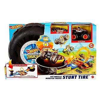 Hot Wheels Monster Trucks Stunt Reifen Spiel set