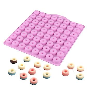 Circular Silicone Mold, 64 Cavities Diy Cake Baking, Decorating Tools, For Candy And Jelly