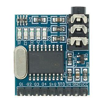 1Kpl mt8870 dtmf äänen dekoodaus moduuli puhelinmoduuli puhe dekoodaus äänilevymoduuli led-ilmaisimet nasttoja