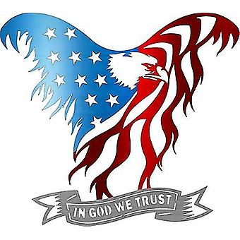American Eagle Piece - amerikansk flagga