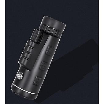 Monocular Telescope, 40X60 High Power HD Monocular with Smartphone Holder & Tripod Waterproof