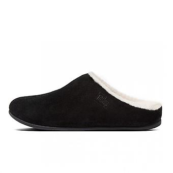FitFlop Chrissie™ Shearling Slippers In Black