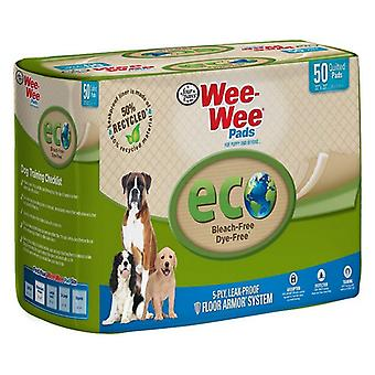 """Four Paws Wee-Wee Pads - Eco - 50 Pack - (22""""L x 23""""W)"""