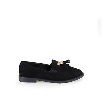Zian Zapatos Casual 23377_36 Color Negro