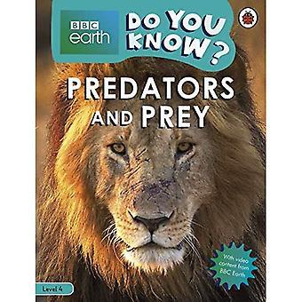 Do You Know? Level 4 - BBC Earth Predators and Prey