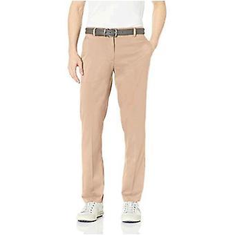 Essentials Pantalone da golf stretch standard dritto da uomo, Navy, 32W x 32L