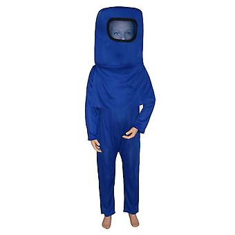 Kids Astronaut Costume Space Suit Jumpsuit Backpack Cosplay