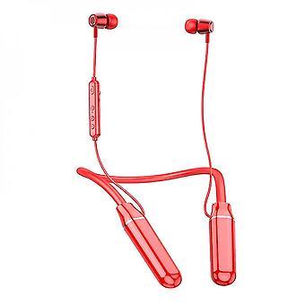 Type-c Hurtig reduktion af støjreduktion Bluetooth-headset Ultra Lang standby lav ventetid Rød