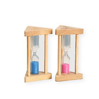 3pcs Home Crafts Wooden Time Hourglass Timer Birthday Gift Fashion Ornament