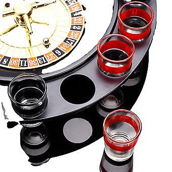 Roue de roulette russe Spinning Vin Verre Ktv Roulette Jeu