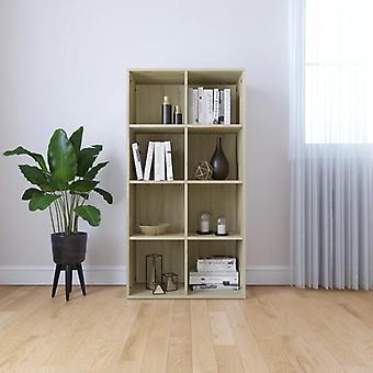 Chunhelife Book Cabinet/buffet Sonoma Oak 66x30x130 Cm Aggloméré