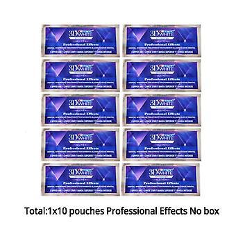 20 packs de patch de dents blanchissantes 3d Crest
