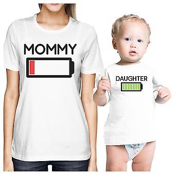 الأم & البطارية ابنه أبيض أمي والطفل مطابقة ملابس هدايا