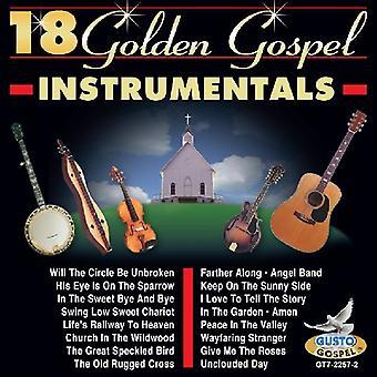 18 Gold Gospel Instrumentals - 18 Gold Gospel Instrumentals [CD] USA import