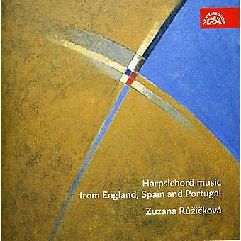 Cabezon/Byrd/Bull/Soler - Harpsichord Music From England, Spain and Portugal [CD] USA import