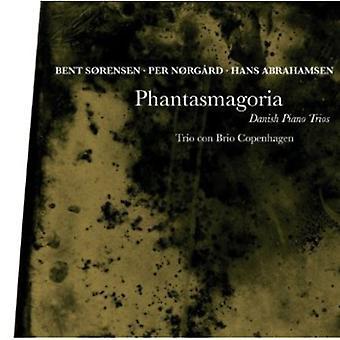 Sorensen/Norgard/Abrahamsen - Phantasmagoria: Danish Piano Trios [CD] USA import