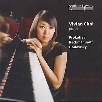 Choi - Vivian Choi Piano - Prokofiev Rachmani [CD] USA import
