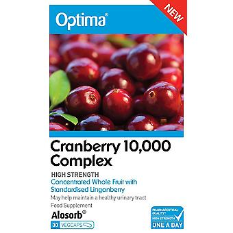 Optima Health & Nutrition, Cranberry, 30 Tablets