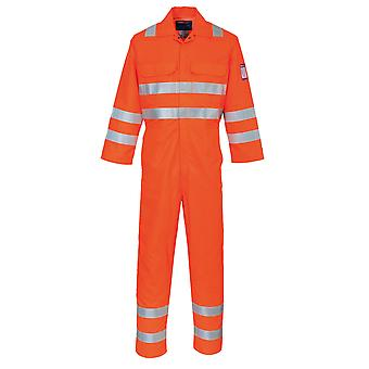 Portwest - Modaflame RIS Hi-Vis Safety Workwear Boilersuit Coverall