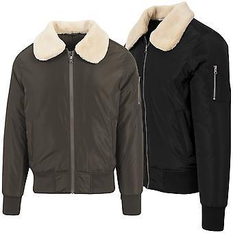 Urban classics - giacca di pelliccia pilota bombardiere Aviator