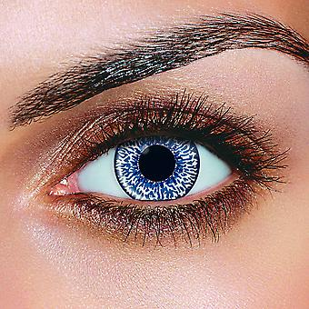 Blue 2 Tone Contact Lenses (Pair)