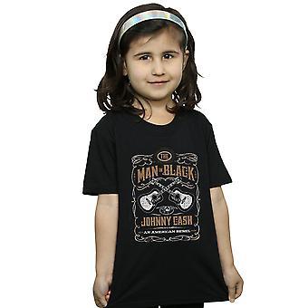 Johnny Cash Girls kitara merkki t-paita