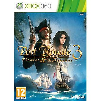 Port Royale 3 pirater och köpmän (Xbox 360)-ny