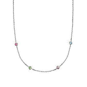 Scout Kinder Halskette Kette Silber Bunt Girls 264109100