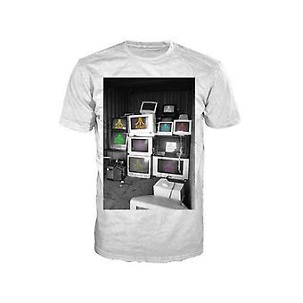 ATARI dator skärmar Mens stor T-Shirt, vit (TS870020ATA-L)