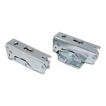Fridge Freezer Integrated Door Hinge Set Left Right Pair Fits Bosch