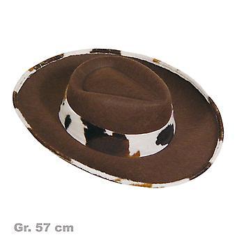 Vestlige cowboy mænds hat