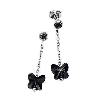Scout children earrings silver Butterfly black girl 262161100