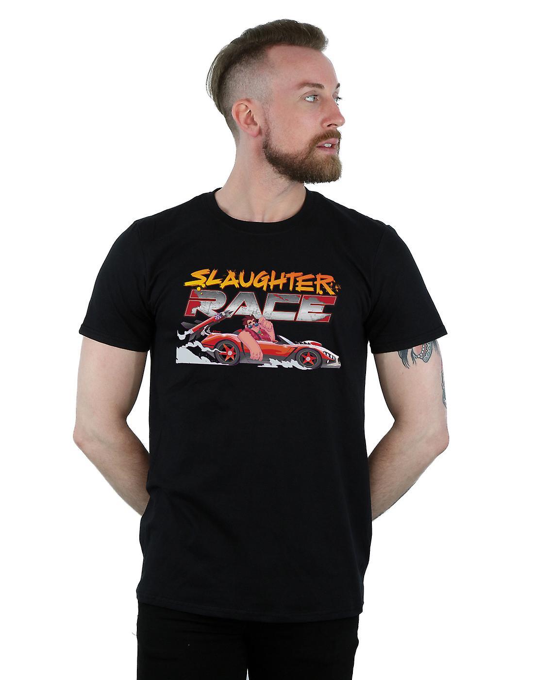 Disney Men's Wreck It Ralph Slaughter Race T-Shirt