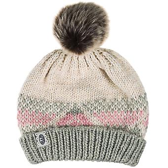 Animal Womens Abundance Winter Knitted Bobble Beanie Hat - One Size