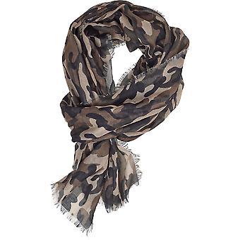 Urban Classics Unisex sjaal licht Camo