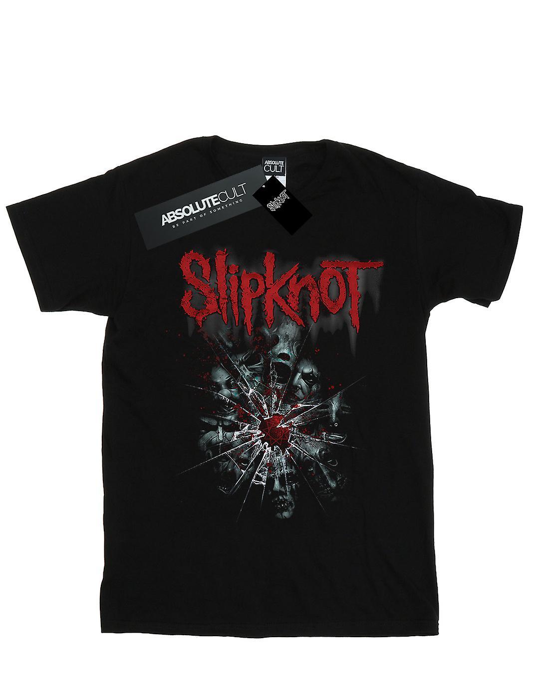 Slipknot Women's Shattered Glass Boyfriend Fit T-Shirt