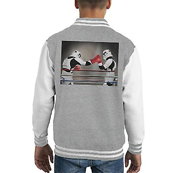 Original Stormtrooper Boxing Match Kid Varsity Jacket
