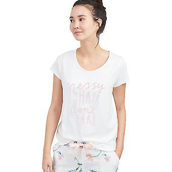 Joules Womens Anna zachte ademende Short Sleeve T-Shirt